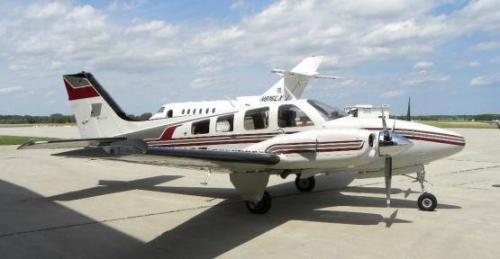 Beechcraft Baron 58P | AirplanesUSA